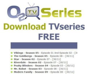 How to download from www o2tvseries com