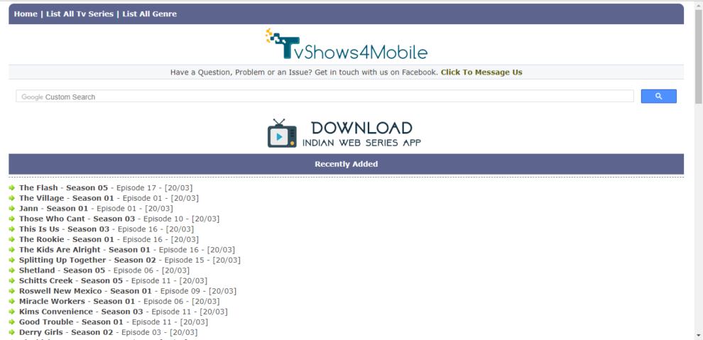 TVShows4mobile com ~ How to Download Latest TV Movie Series