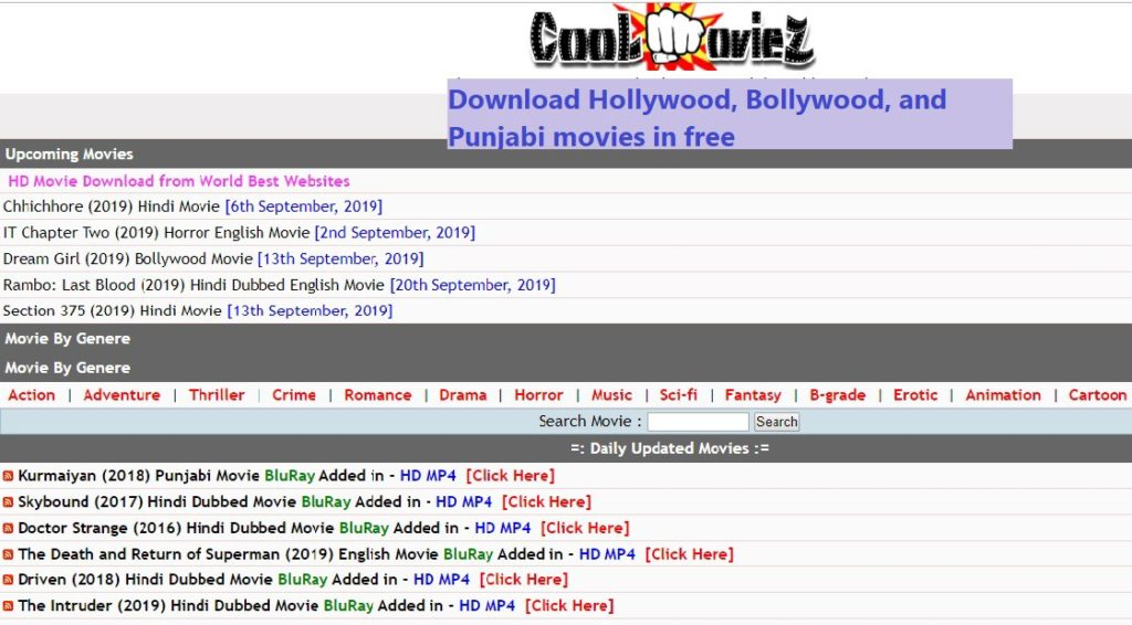 Coolmoviez.Net Movies category