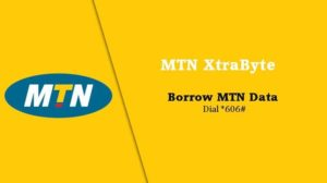 how to borrow data from MTN