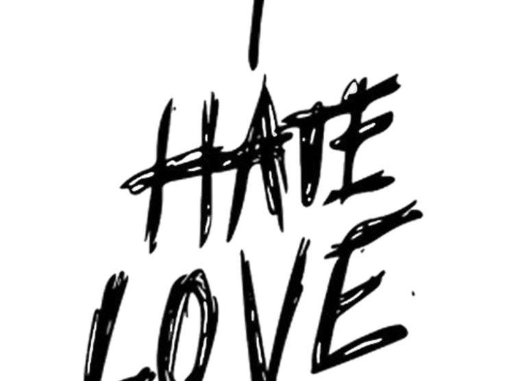 i hate love status quotes