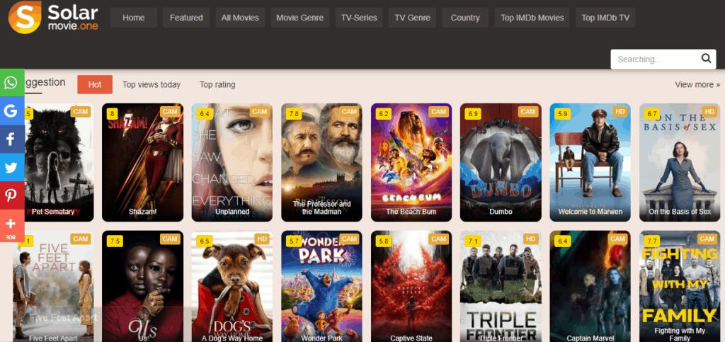 Solarmovie ~ Stream Free Movies Online