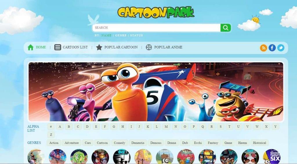 Watch Cartoon Online on Cartoon Park