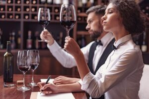 High Paying Jobs Without a Degree or Experience - sommelier